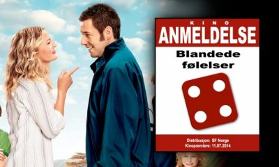 Terningkast fire for Barrymore og Sandler!