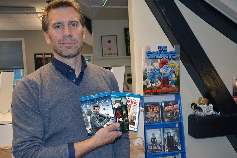 Jonas Wåhlander leder Universal Sony Pictures Home Entertainment Nordic. Foto: John Berge