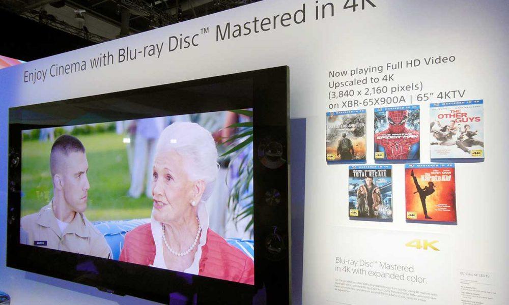 «Mastered in 4K» Blu-ray Discs utstilt på CES-messen i Las Vegas