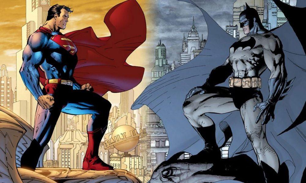 To av tegneserieverdens største helter skal nå sees sammen på film. Tegning: © DC Comics.