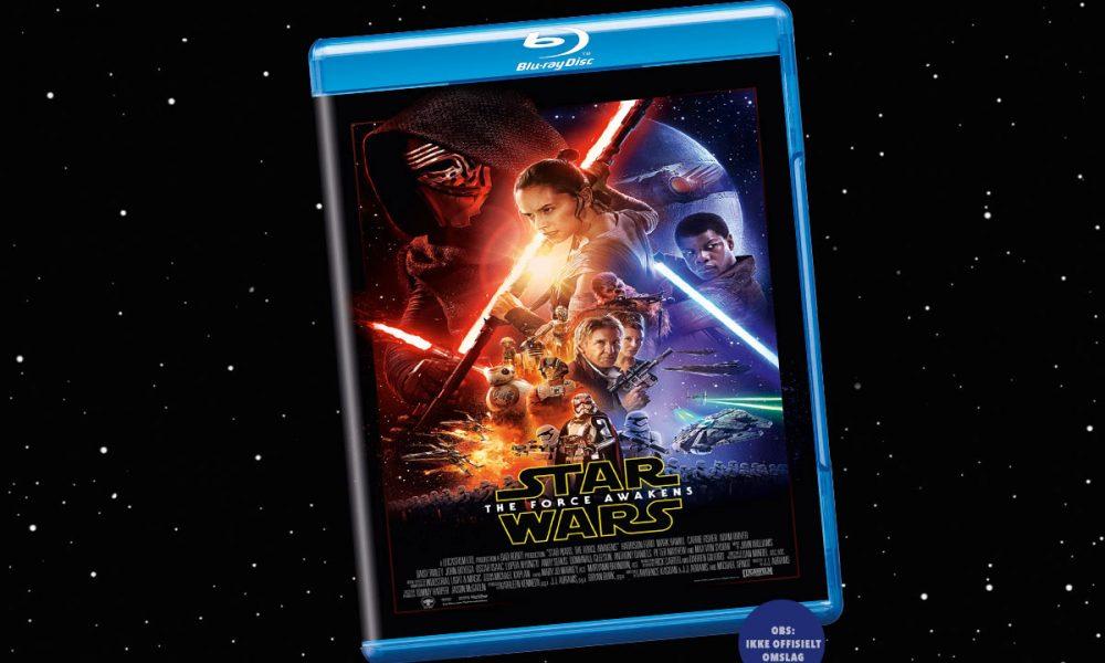 Star Wars: The Force Awakens hadde norgespremiere 16. desember 2015. Omslaget overfor er kinoplakaten satt inn i en Blu-ray-emballasje. (OBS: Ikke offisielt omslag.) Foto: Lucasfilm/Disney