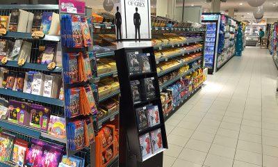 SNOP OG FILM: Fifty Shades of Grey (Universal Sony) har sin naturlige plass som sjokkselger inne i denne Coop-butikken på Kolbotn Torg