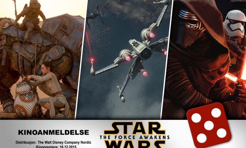 Star Wars: The Force Awakens fikk terningkast fem av KINOMAGASINETs anmelder.