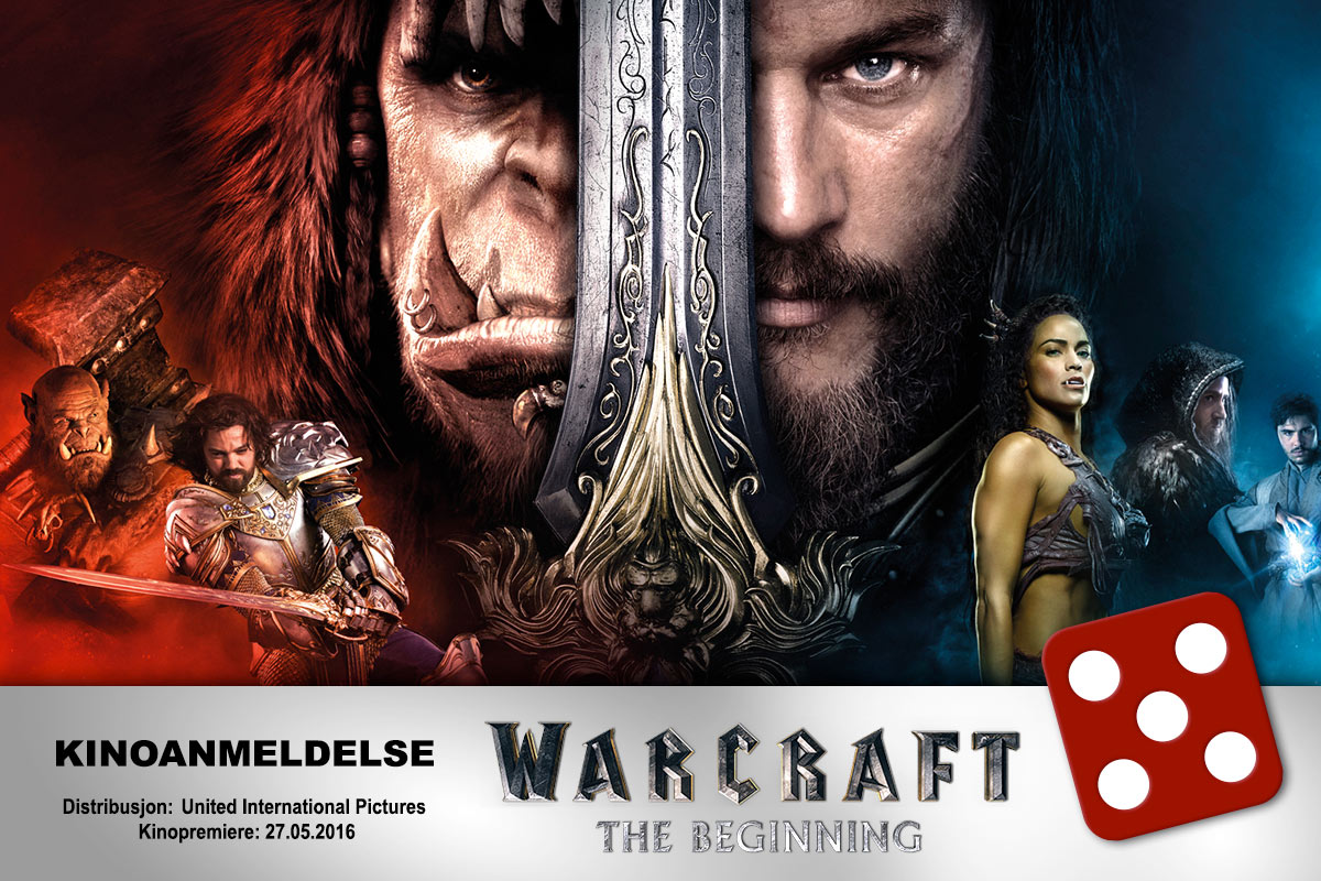 Warcraft: The Beginning falt i smak hos KINOMAGASINETs anmelder, som ga terningkast fem.