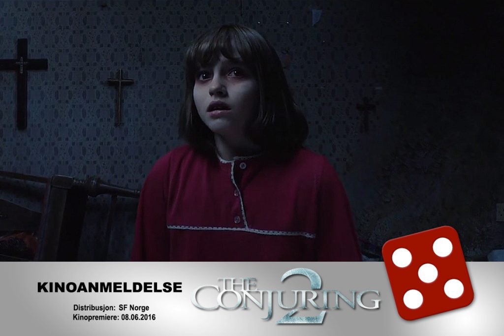 KINOMAGASINETs Fredrik Olsen Hagstrøm var meget begeistret og ga terningkast fem til The Conjuring 2.