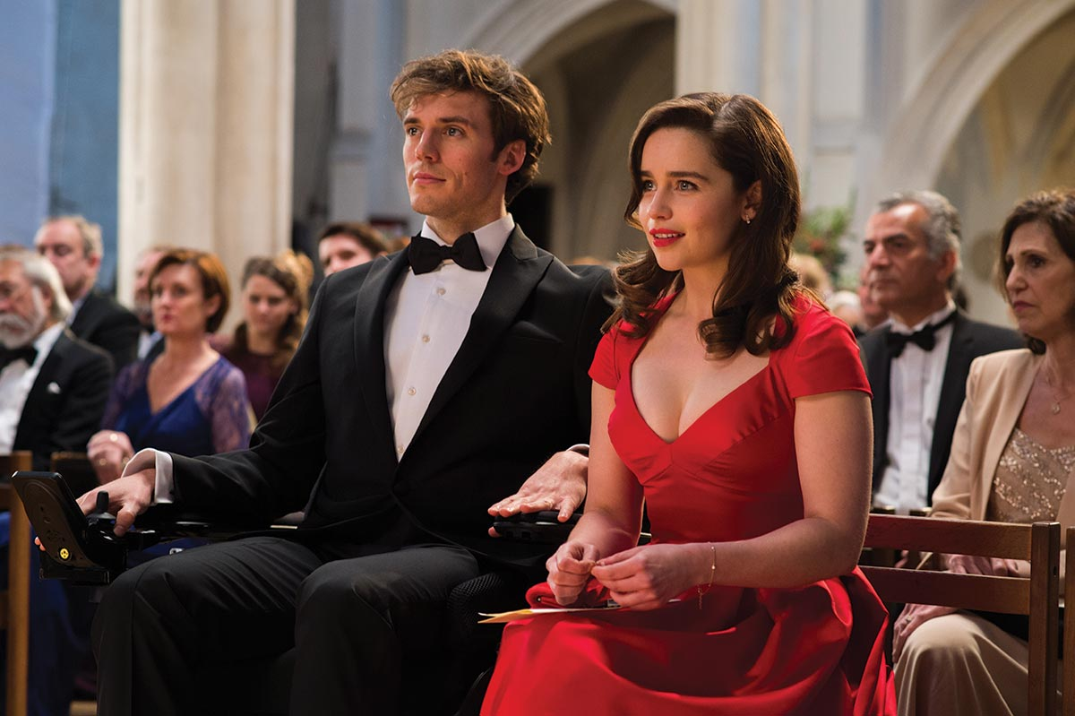 DATENIGHT: William (Will) Traynor (Sam Claflin) og Louisa (Lou) Clark (Emilia Clarke) i Et helt halvt år.