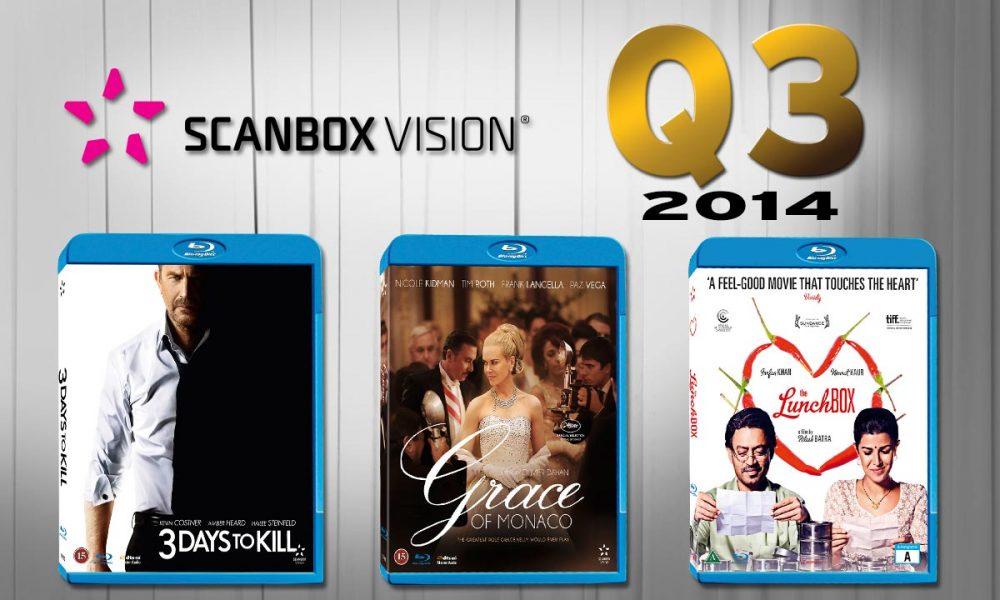 Her er noen av høydepunktene fra Scanbox i årets tredje kvartal: Big Eyes