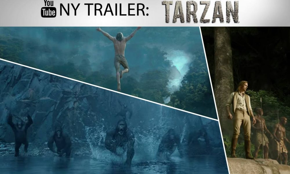 Tarzan får en ny sjanse til å imponere i The Legend Of Tarzan. En spenningsfilm laget for å bli vist i 3D på kinoskjermer landet rundt.