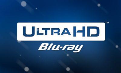 Den offisielle logoen for 4K Ultra HD Blu-ray. Montasje: Per Mork.