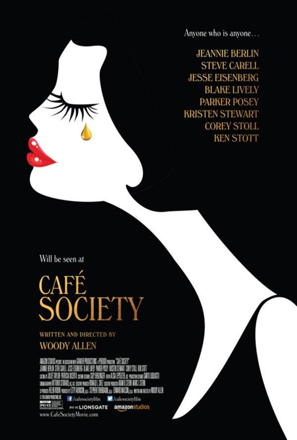 Café Society er laget av Woody Allen.