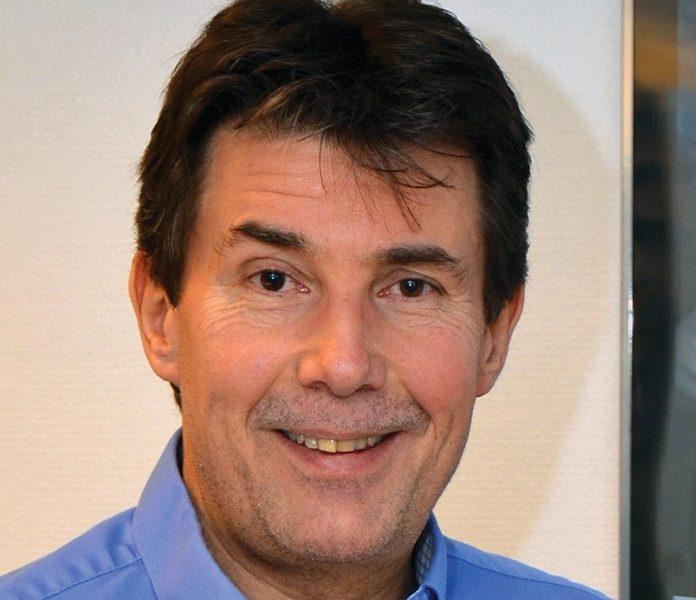 SUPERMANN hjelper til på UHD-markedet! Håvard Erga er nordisk salgsdirektør hos Warner Bros. Entertainment og leder for den norske avdelingen. Foto: John Berge