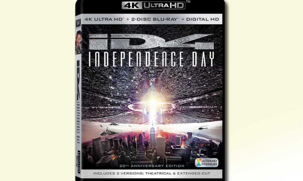 4K UHD: Independence Day.