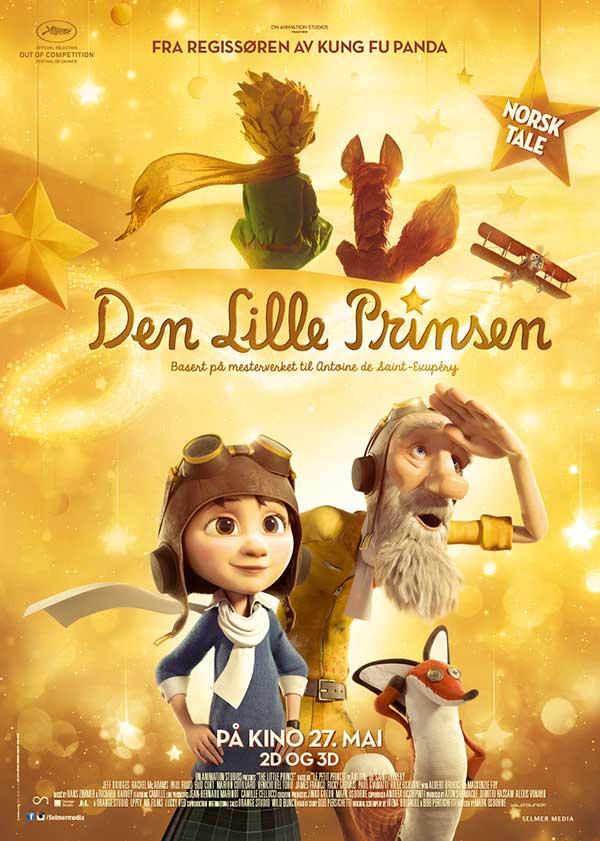Den lille prinsen (The Little Prince) hadde norgespremiere 27.05.2016 og fikk en bred markedsføringskampanje.