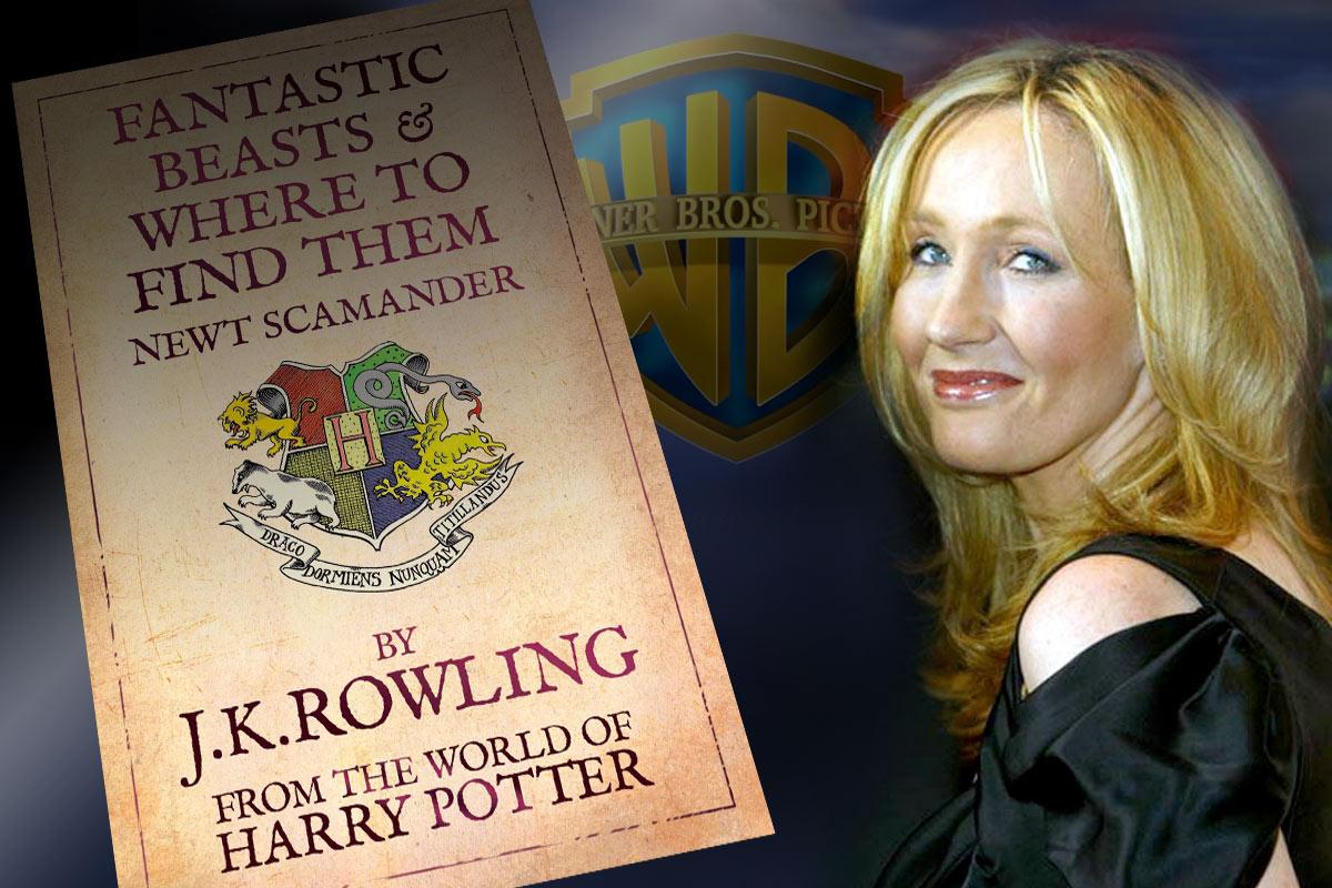 J.K. Rowling og Warner Bros. skal følge opp «Harry Potter»-filmene med «Fantastic Beasts and Where to Find Them». Montasje: Per Mork, KINO/VIDEOMAGASINET