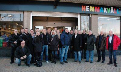 14. januar 2010: På besøk hos en Hemmakväll-butikk i Sverige