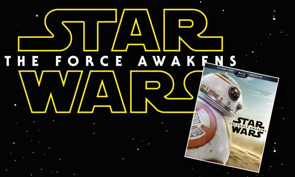 Et av flere omslag av den kommende Blu-ray-utgaven av Star Wars: The Force Awakens