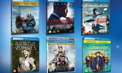 SEKS av de mest profilerte nye Blu-ray-utgivelsene fra Universal Sony Pictures Home Entertainment Nordic.