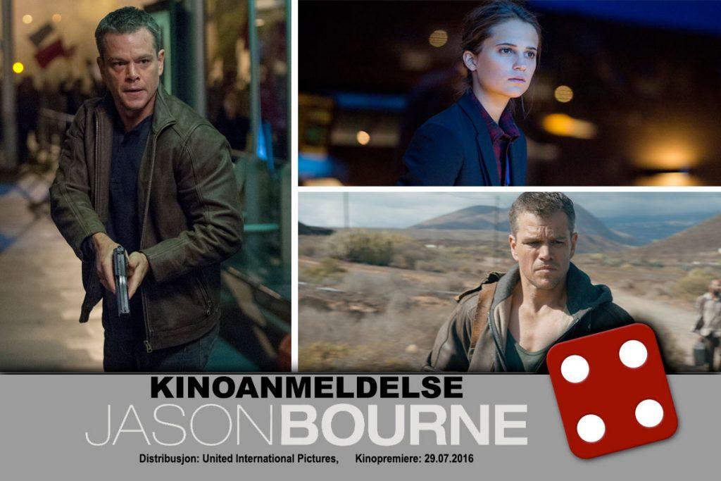 Jason Bourne fikk terningkast fire av KINOMAGASINETs anmelder.