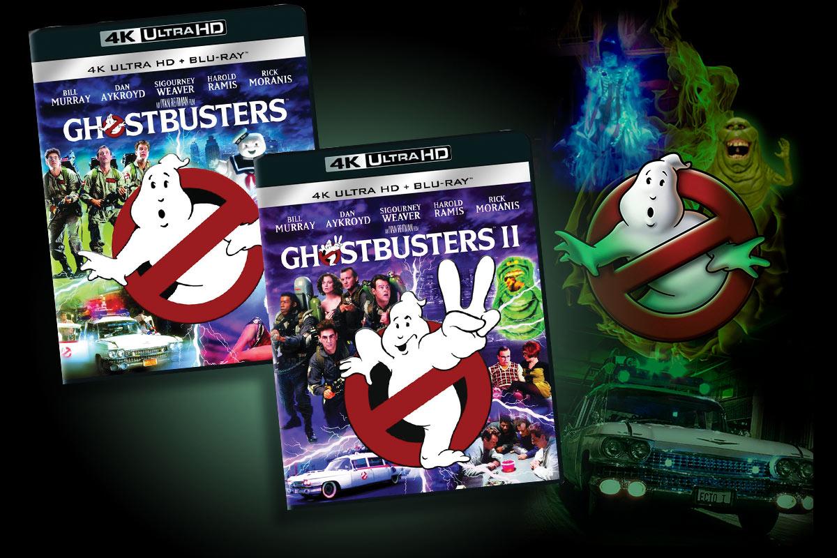 De to originale Ghostbusters ble utgitt som 4K Ultra HD sommeren 2016.