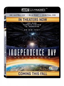 Midlertidig UHD-omslag for Independence Day: Resurgence.