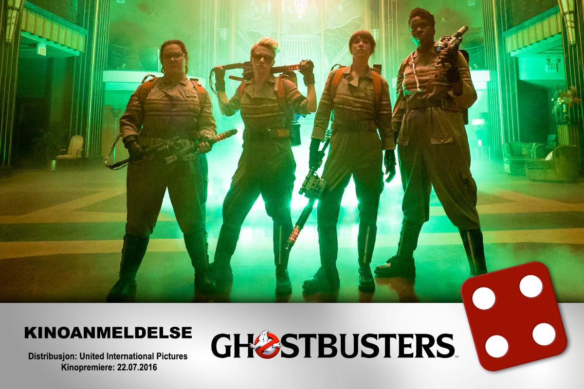Ghostbusters (2016) fikk terningkast fire av vår anmelder.