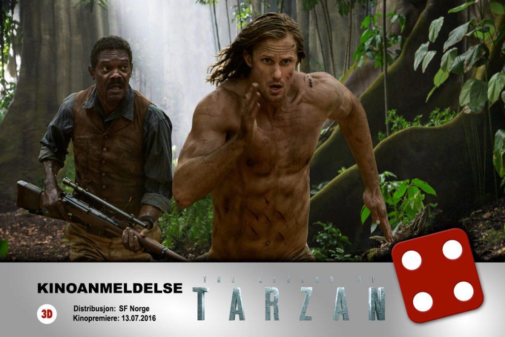KINOMAGASINETS Fredrik Olsen Hagstrøm var ikke helt overbevist men ga The Legend of Tarzan terningkast fire.
