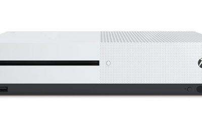 OGSÅ UHD-SPILLER: Xbox One S.