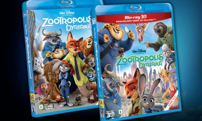 Zootropolis ble lansert som Blu-ray 3D, Blu-ray og DVD 4. juli 2016 og ble det mest solgte videogram i Norge i 2016.