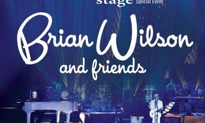 BRIAN MED VENNER: Utsnitt av forsiden på Brian Wilson And Friends.
