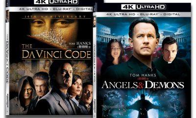 Dan Brown-filmatiseringene The Da Vinci Code (2006) og Angels & Demons (2009) er nå på UHD.