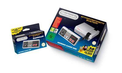 DENNE GANG UTEN KASSETTER: 2016-versjonen av Nintendo Classic Mini: Nintendo Entertainment System er heldigital og har HDMI-kabel. Foto: Nintendo