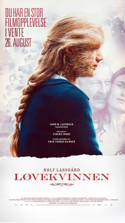 Løvekvinnen-plakat.