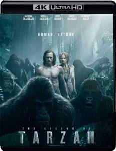 Midlertidig omslag for UHD-utgaven av The Legend of Tarzan.