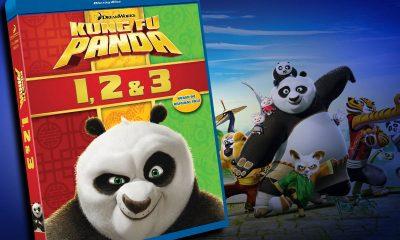 Tre doser med Kung Fu Panda!