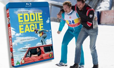 Hugh Jackman og Taron Egerton spiller hovedrollene Eddie the Eagle.