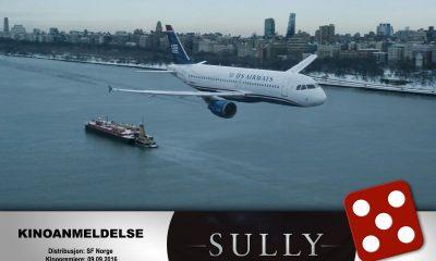 KINOMAGASINETS anmelder mener Tom Hanks gjør en Oscar-verdig jobb i rollen som Chesley «Sully» Sullenberger i Sully.