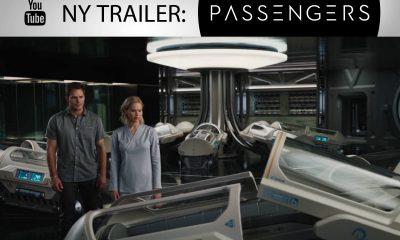 Rompassasjerene: Jim Preston (Pratt) og Arurora Dunn (Lawrence). Foto: Sony Pictures