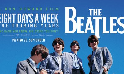 KINOPREMIERE for The Beatles: Eight Days A Week.