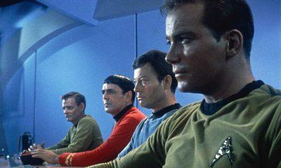 Klassiske helter: William Shatner som Captain James T. Kirk til høyre. Foto: Paramount Studios