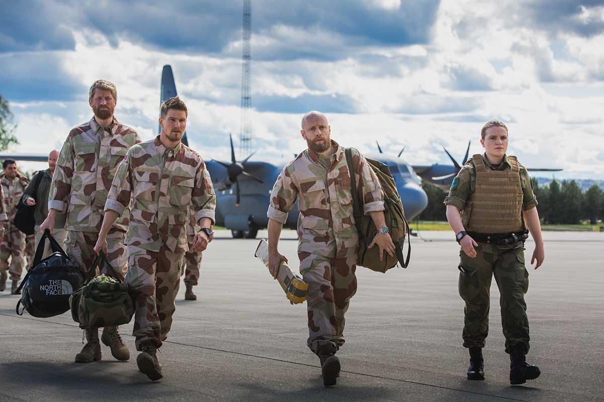 Nobel – fred for enhver pris tar oss med inn i virkeligheten til soldater som kjemper i Afghanistan. Foto: Eirik Evjen/Monster Scripted