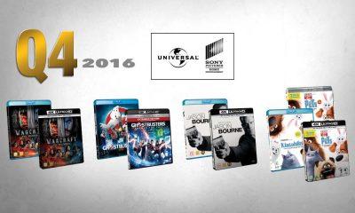 FJERDE KVARTAL fra Universal Sony preges av flere toppfilmer.
