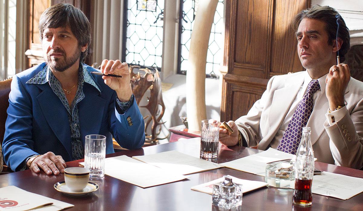 Zak (Ray Romano) og Richie (Bobby Cannavale) er nære samarbeidspartnere og kolleger, men er ikke bestandig enig. Foto: HBO.