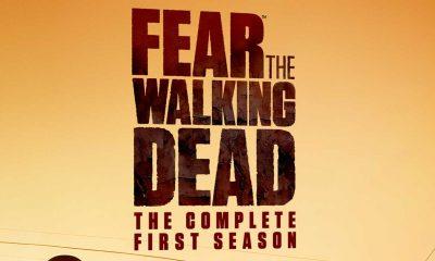 Utsnitt av Fear The Walking Dead: sesong 1 Blu-ray-omslag.