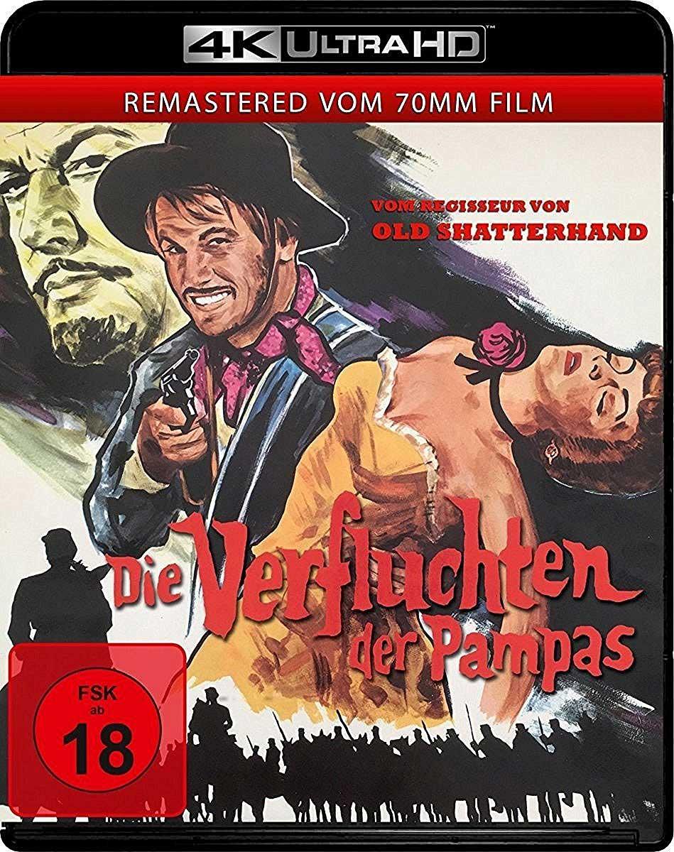 Die Verfluchten der Pampas er den tyske tittelen på Savage Pampas (1966).