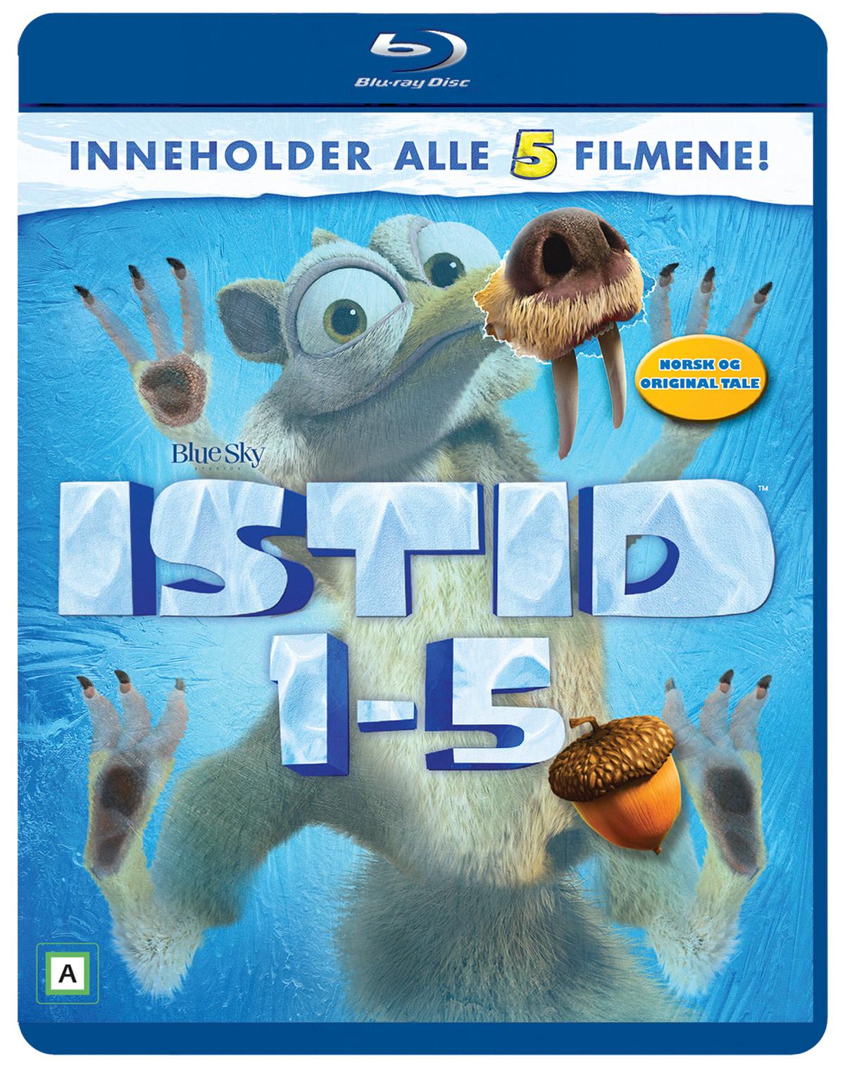 Istid: på kollisjonskurs er ute fra 21.11.2016 på UHD, 3DBD, Blu-ray, DVD, UHD og VOD. Det utgis også en BD- og DVD-samleboks med alle fem filmene i serien.