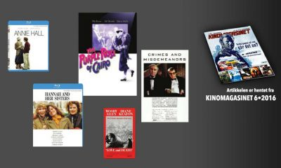 Et utvalg Woody Allen-klassikere.