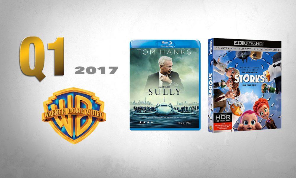 WARNER 1. KVARTAL 2017: To av titlene warner byr på i alle formatene er Sully og Storks.