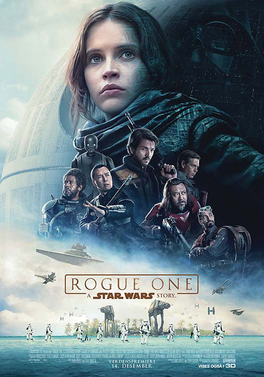 PLAKAT: Rogue One: A Star Wars Story.