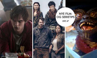 Tre filmer hvor zombier eller små monstre inntar vår verden