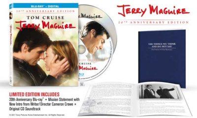 Slik ser den amerikanske utgaven ut: Jerry Maquire: 20th Anniversary Edition.